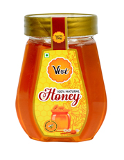 Natural Honey Packed in Pet Octa Shape Bottle