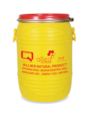 Allied Natural Honey Packed in Institutional Plastic Drum