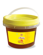 Allied Natural Honey Packed in Institutional Transparent Bucket